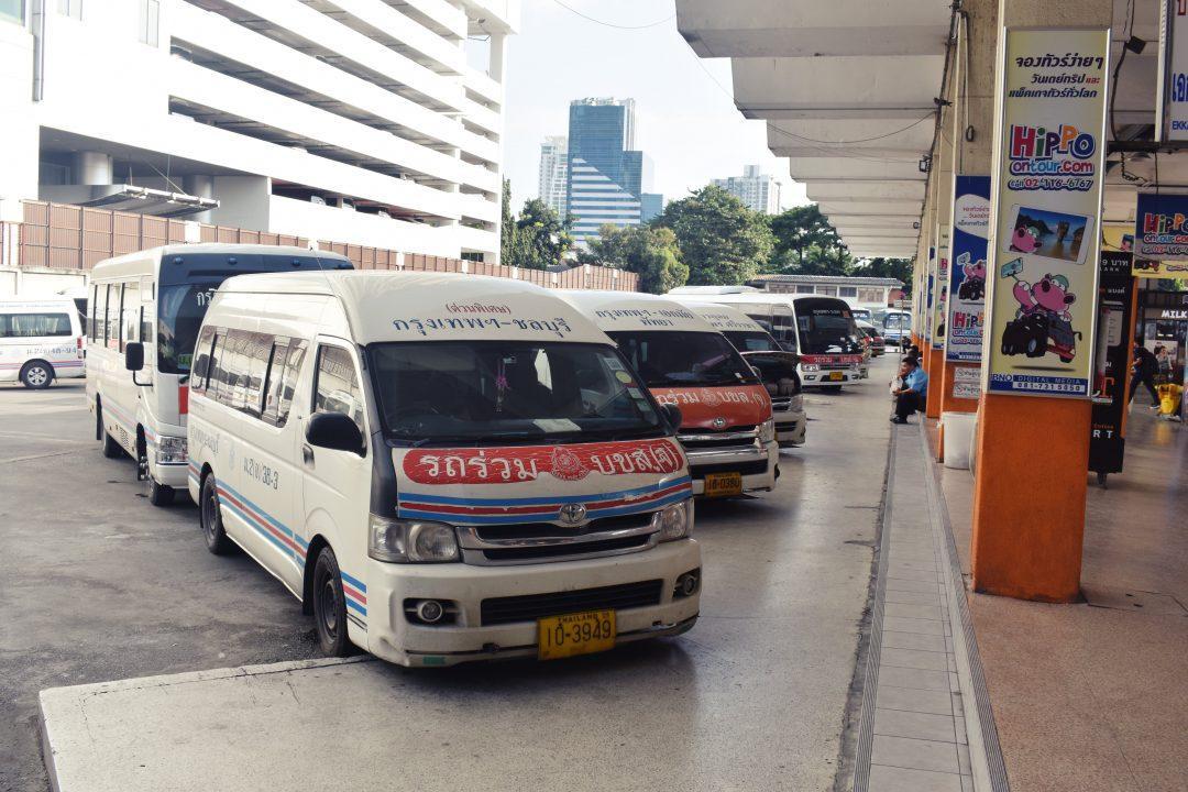 Ekkamai Van Terminal Bangkok