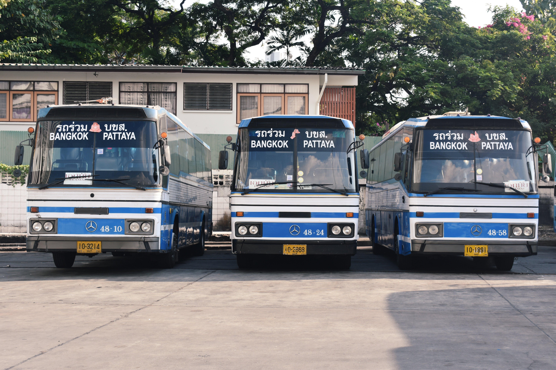 Bangkok to Pattaya Bus from Ekkamai Bus Station
