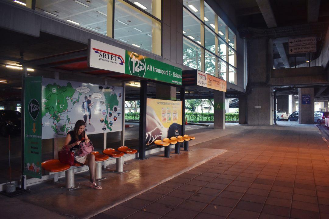 12go Makkasan Van Station in Bangkok
