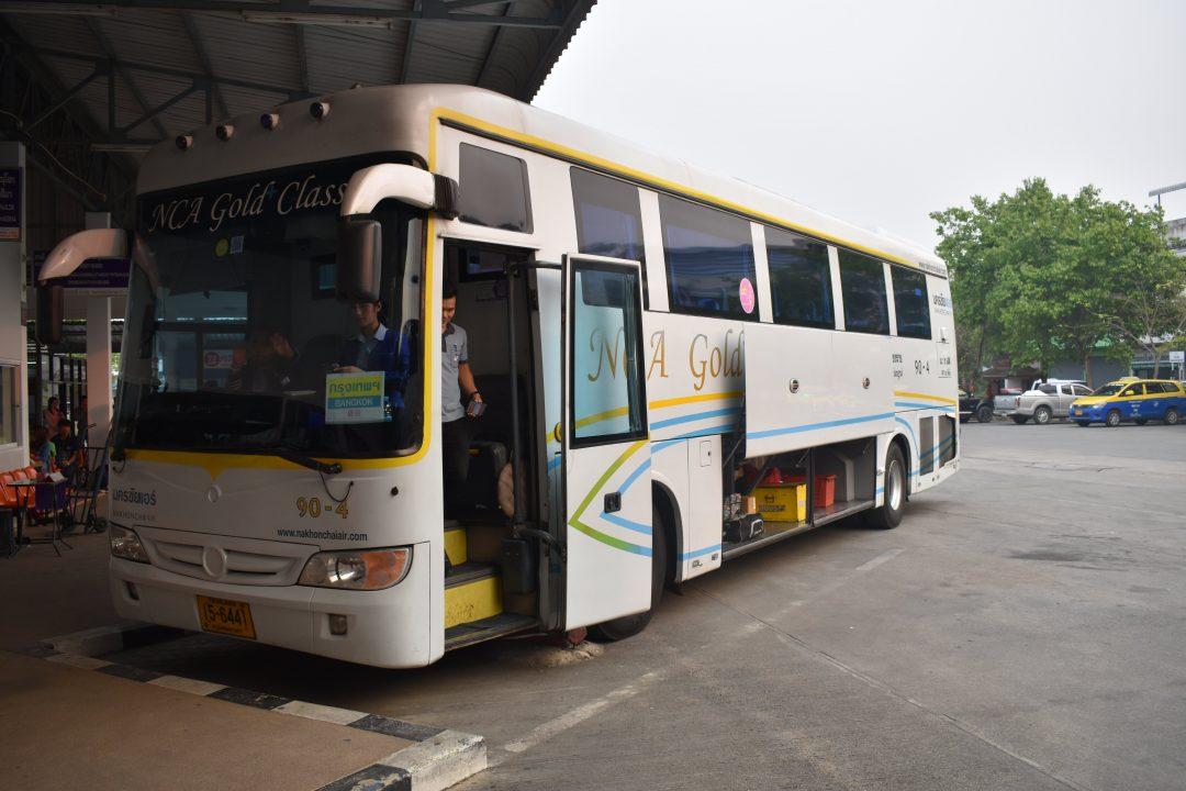 Getting around Thailand by bus