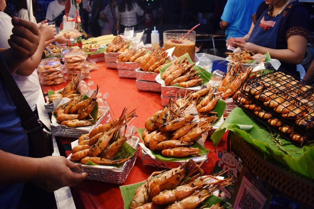 Loy Krathong at Asiatique in Bangkok