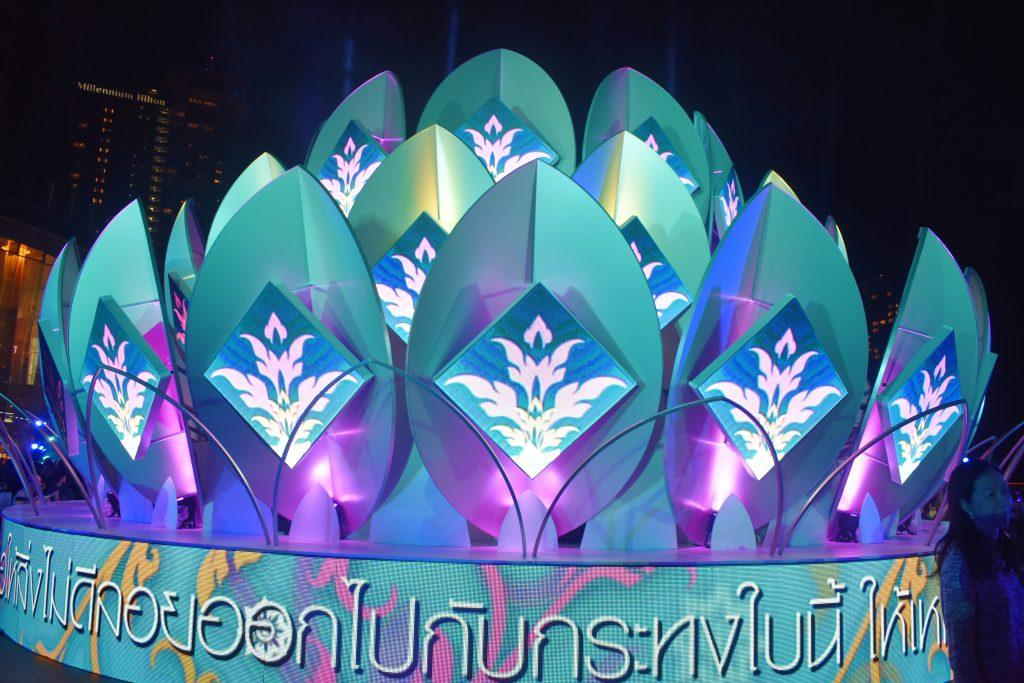 Loy Krathong at Iconsiam in Bangkok