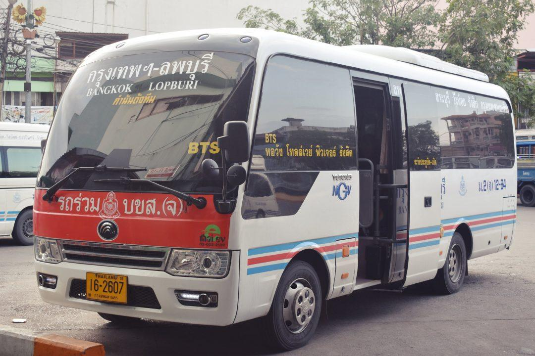 Getting around Thailand by Minivan & Minibus