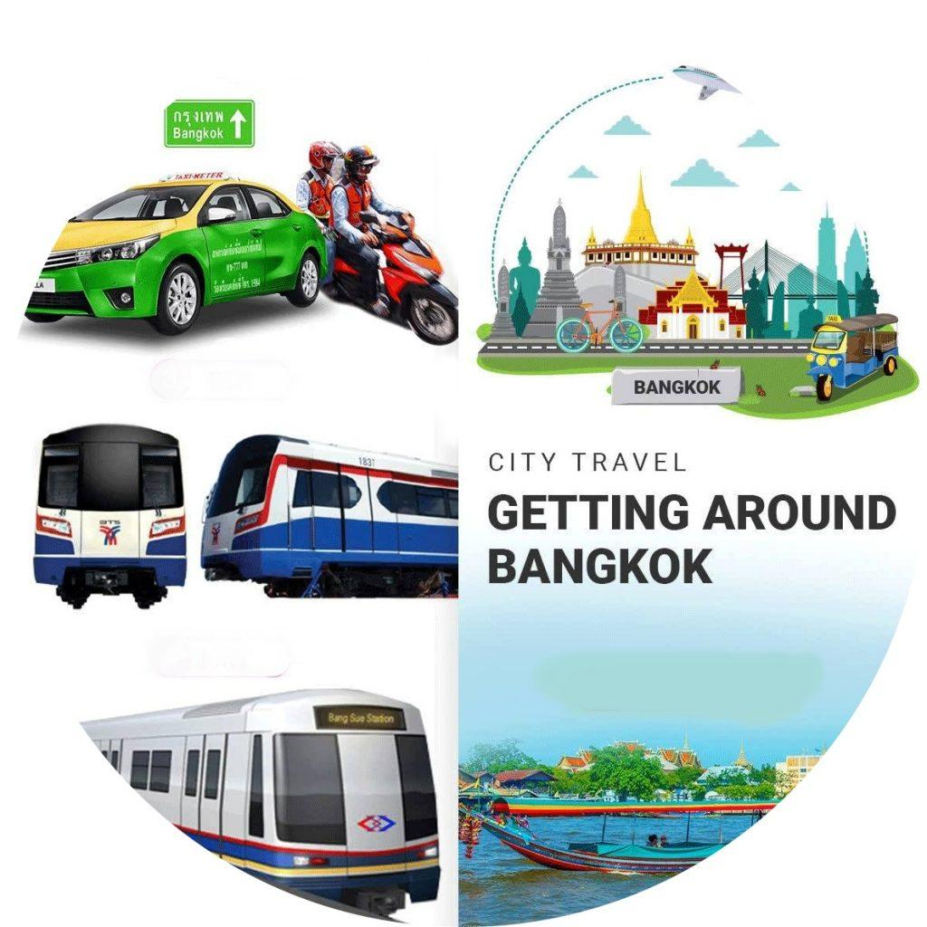 Getting Around Bangkok
