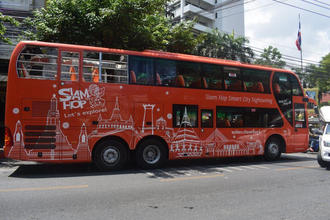 Bangkok Open Top Bus Tour