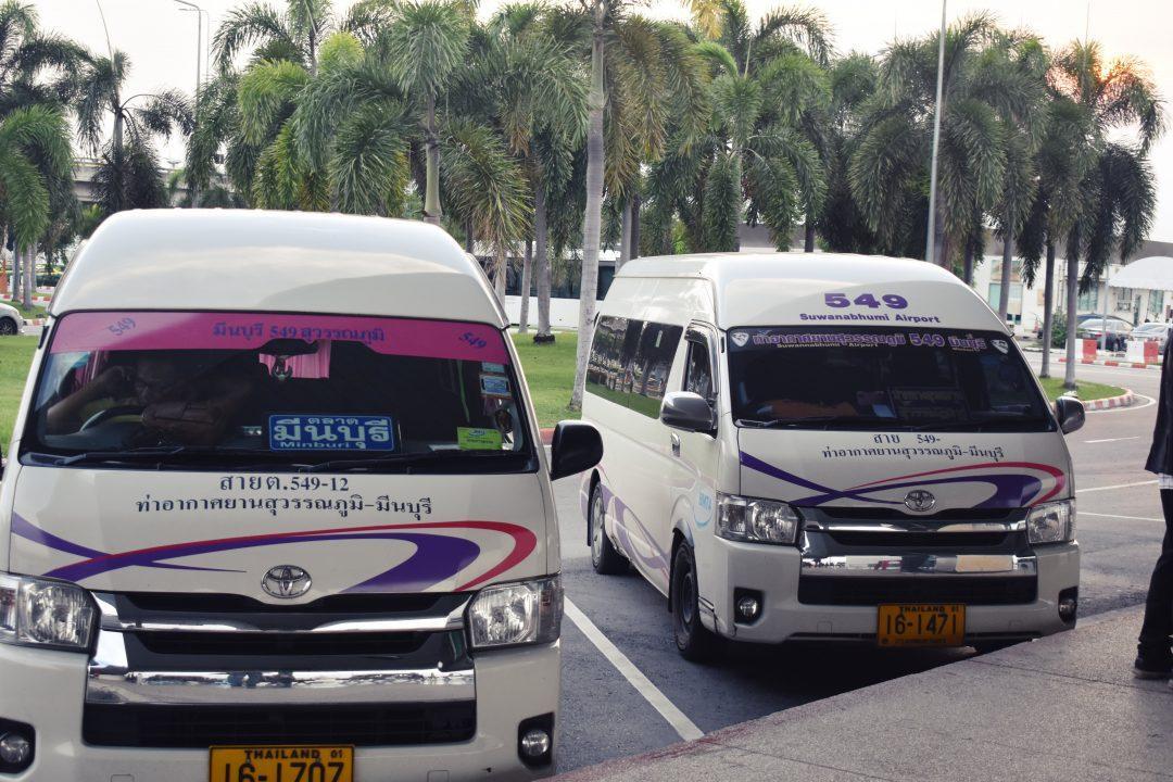 Bangkok Airport Passenger Vans