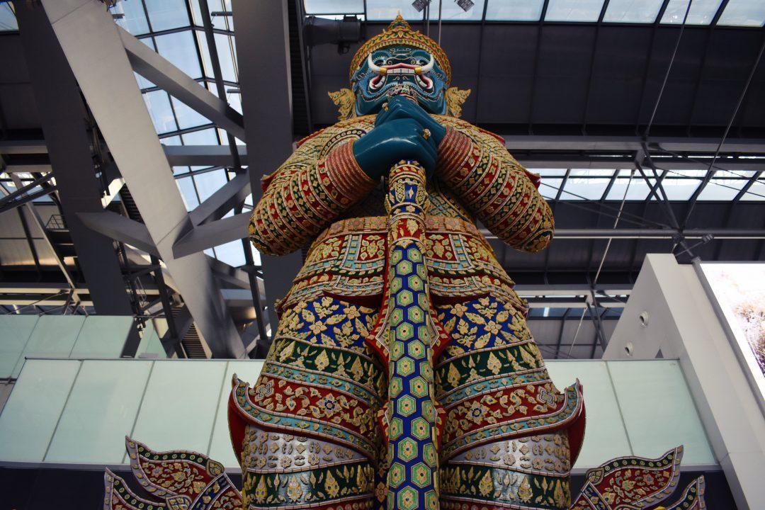 Bangkok Airport Yaksha