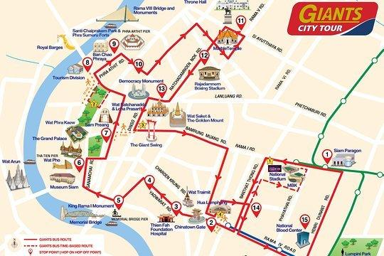 Bangkok City Bus Tour