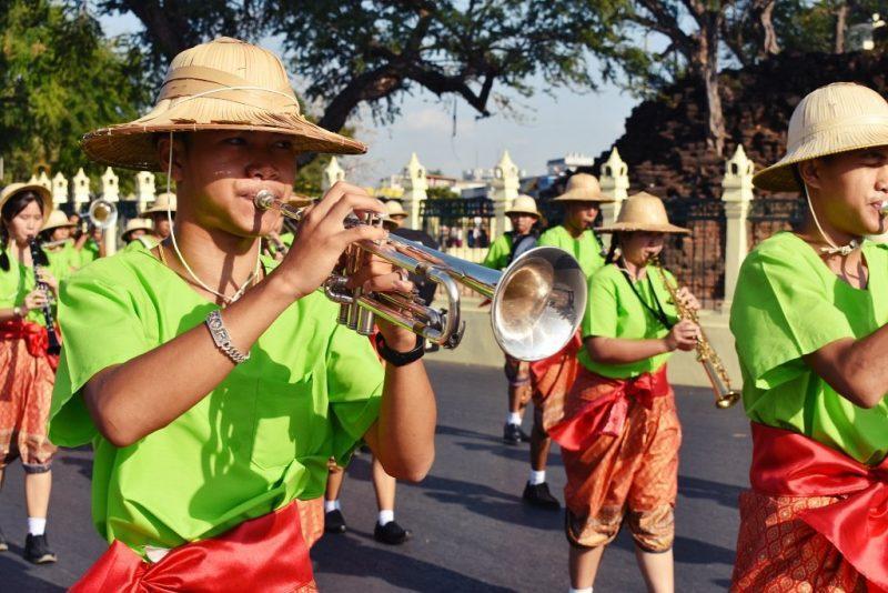King Narai Fair Parade 2020