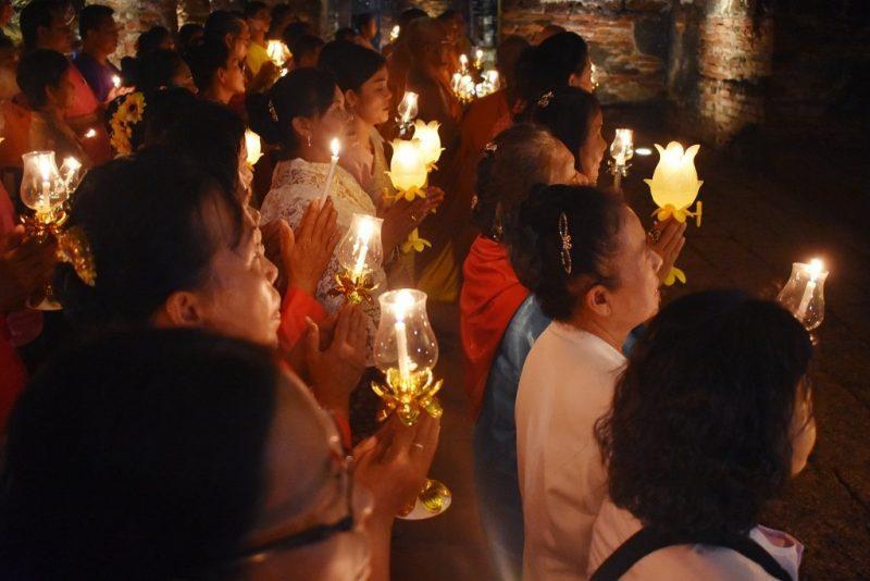 A Buddhist Ceremony in Lopburi