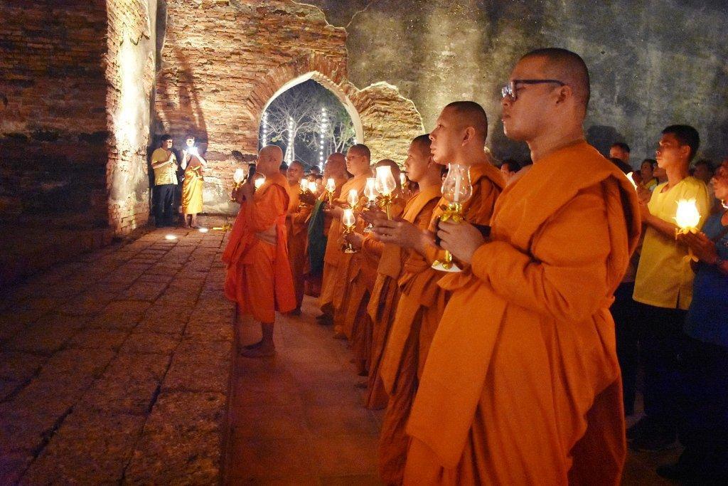 Buddhist Ceremony in Thailand