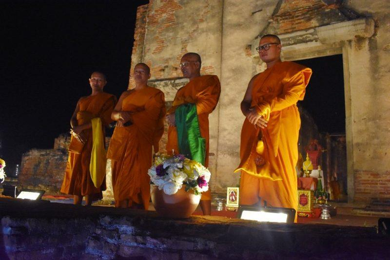 Buddhist Ceremony in Lopburi