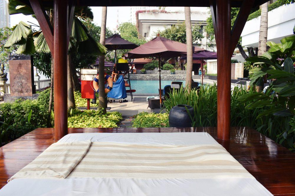 Poolside Massage Bangkok