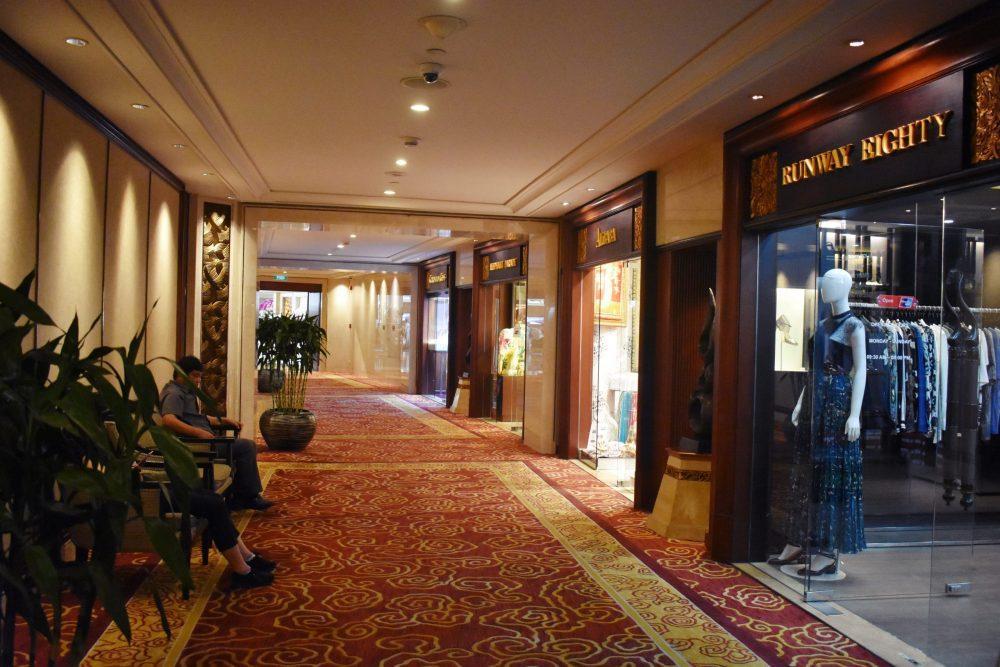 Shangri-la shopping arcade